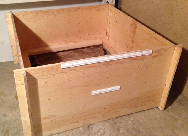 how to make a storage box out of plywood